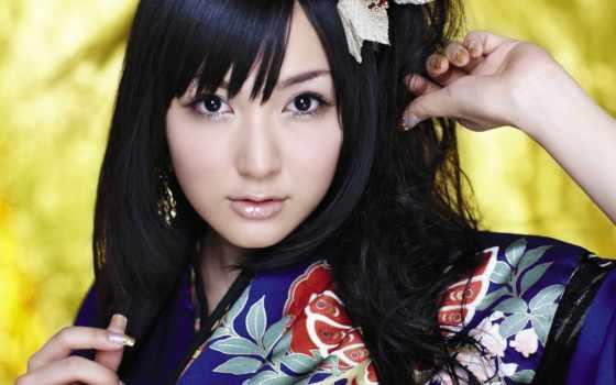 девушка, happy, eri, kitamura, letras, волосы,