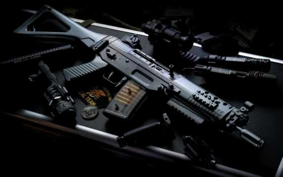 автомат, оружие