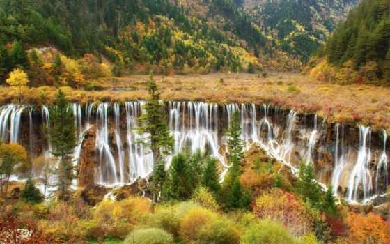 priroda, водопад, cascades