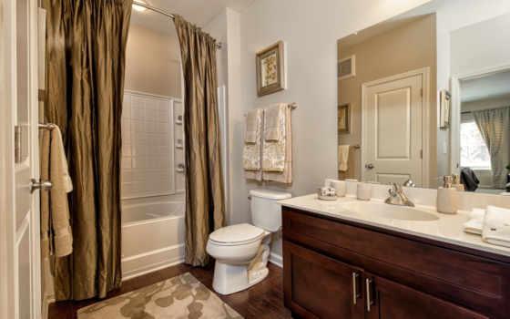 ванная, зураг, комнаты, интерьер, туалетная, новизне,