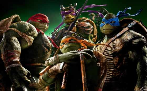 turtles, ninja, teenage, mutant, shadows, out,
