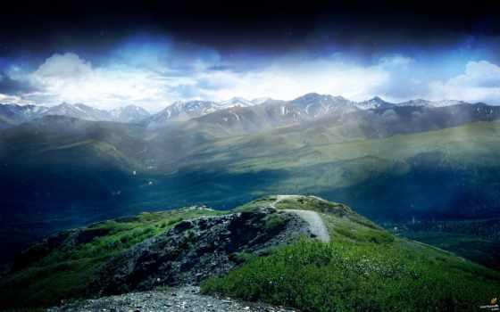 горы, скалы, природа, холма, красивые, горных, массивов, склон, холмы,