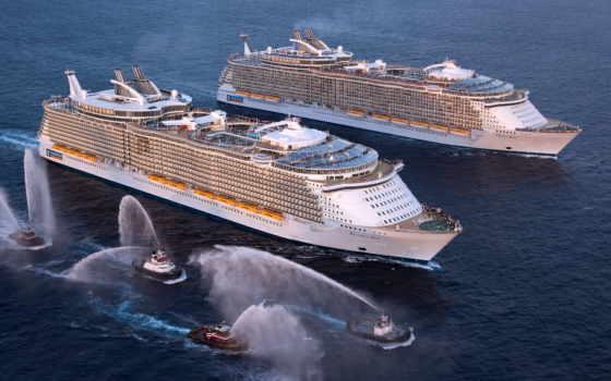 seas, allure, лайнер, cruise, оазис, большой, самый, мире, лайнеры, морей, лайнера,