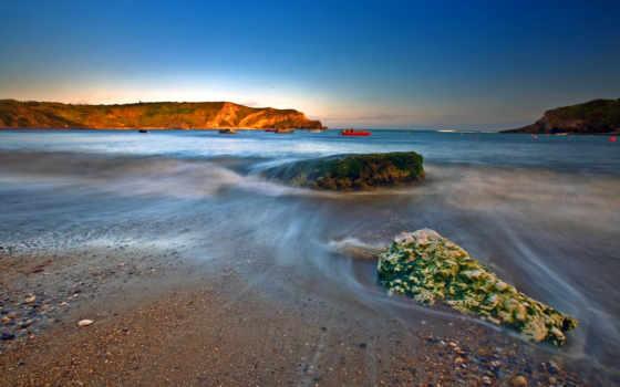 берег, камни, full, water, скалистый, море, природа, desktop, best,