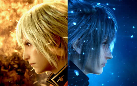 fantasy, final, xv, games, demo, вид, square, enix,