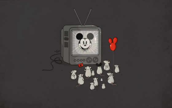 tv, mickey
