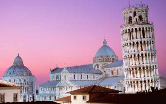 italia, pisa, paisajes, italy, fondos, para, torre, башня, pantalla,