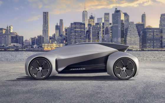 next, car, jaguar, вид, машина, будущее