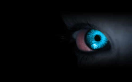 темнота, голубой
