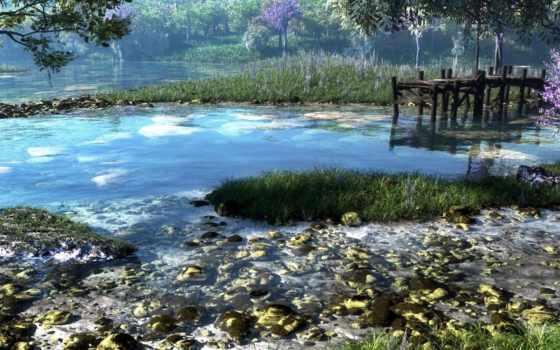 река, klontak