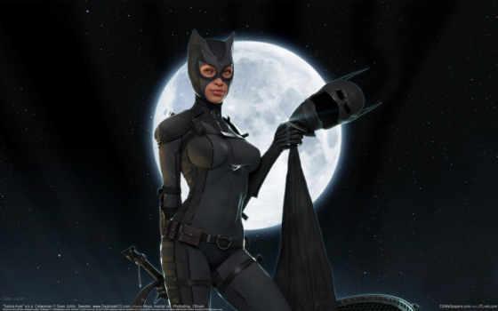женщина, кот, маска