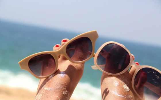 море, песок, summer