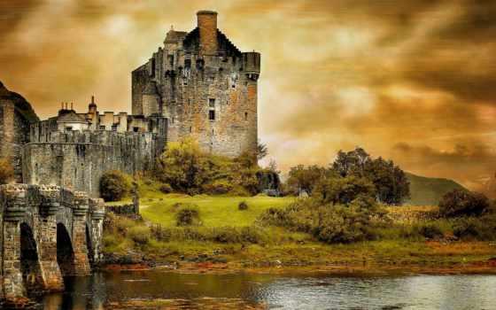 castle, донан, eilean, castles, full, you, изысканный,