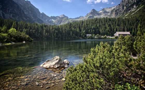 tatra, природа, горы, lago, tapety, summer, весна, автомобили, озеро, авиация,