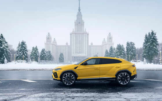 world, lamborghini, around, months, четверо, urus,