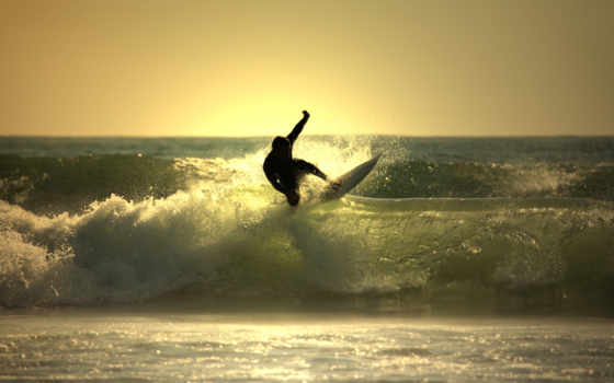 surfing, board