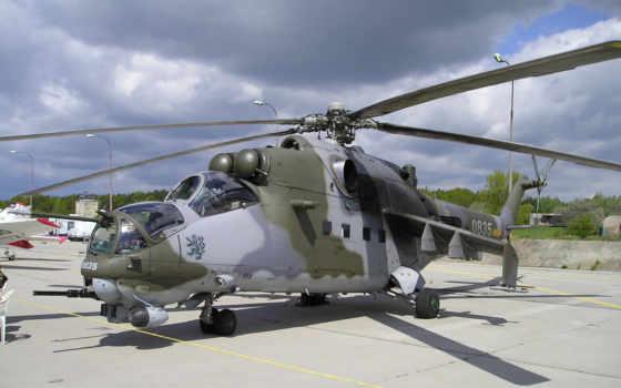 ми, вертолет, лопасти