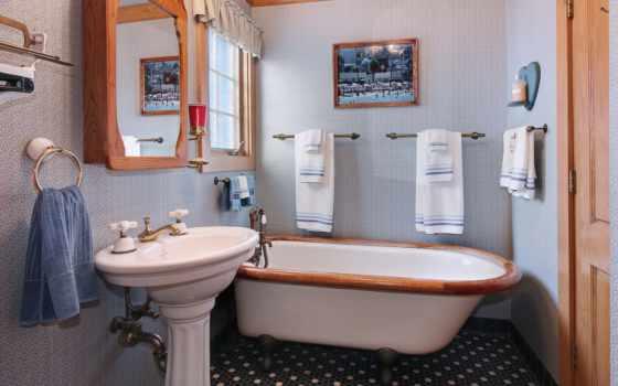 интерьер, design, города, ванная, дома, особняк,