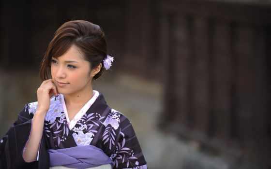 кимоно, japanese, широкоформатные, девушка, японок, красавица, японки, качественные,