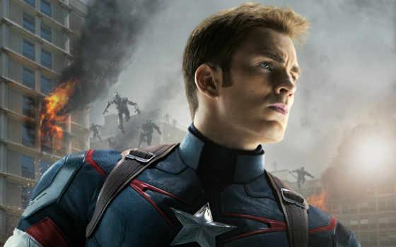 мстители, captain, america