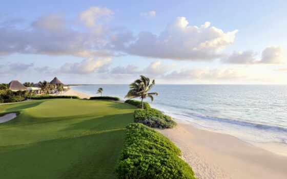 golf, playa, del, carman, курс, quintana, club, resort, roo