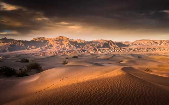 пустыня, гора, песок, dune, permission