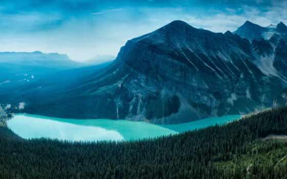 banff, national, park, канада, озеро, louise, природа, rockies, канадский