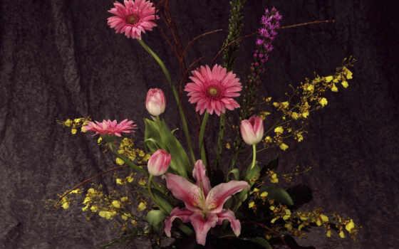 flowers, flower, arrangement, букеты, para, new, download, top, композиции,