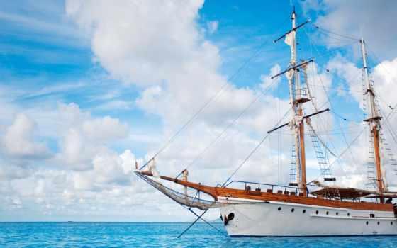 парусник, корабль Фон № 58151 разрешение 1920x1200