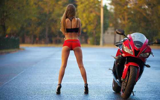 devushki, мотоциклы, драйв