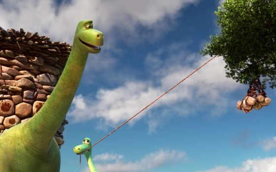 poppa, хороший, динозавр, arlo, henry, pixar, wright, disney,