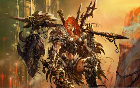 diablo, barbarian, варвара, женщина, легендарных, everything, квиндт, предметы, ферма, iii, варварша,