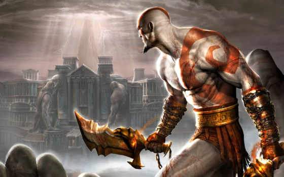 war, god, game, серия, kratos, one,
