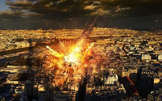 fantasía, max, caída, meteoritos, parís, апокалипсис, париж, caen,