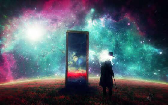 зеркало, сюрреализм, human, art, космос