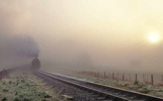 поезд, железная, дорога