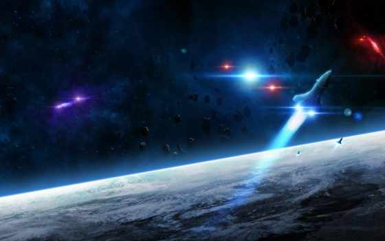 land, cosmos, planet, астероиды,