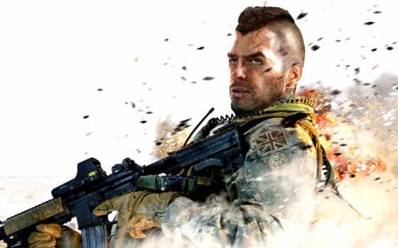 современный, duty, warfare, колл, солдат, cod,
