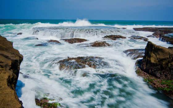 java, звуки, побережье, ocean, indonesia, sawarna, indian, индонезийский,