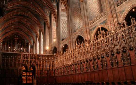 cathedral, albi, religious
