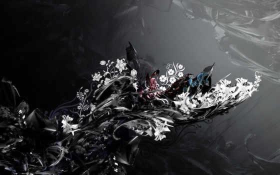 узоры, cvety, формы,