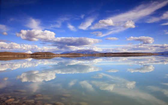 heaven, lake, природа, красивые,