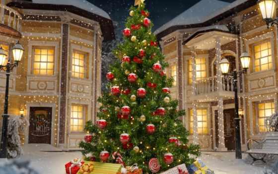 елка, новогодняя, фотофон, фотофоны, год, new, улице, jv,