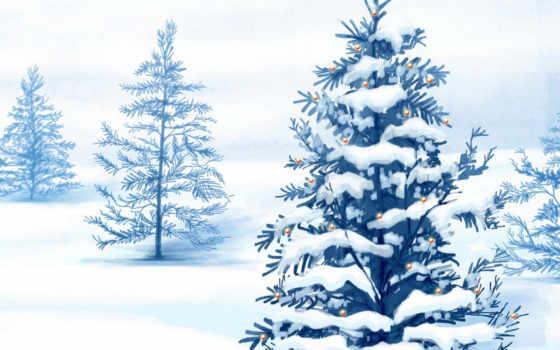 christmas, зима