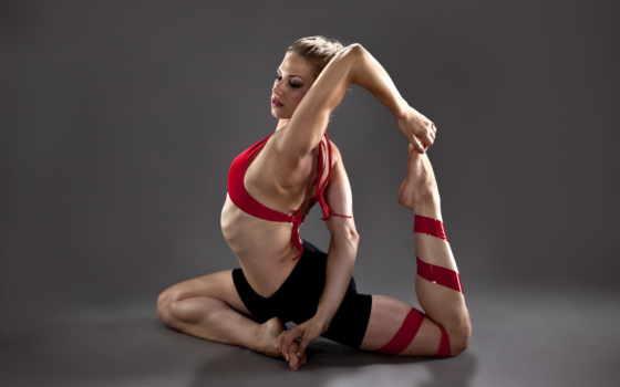 спорт, девушки, гимнастика
