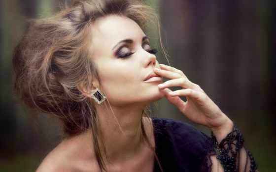 модель, макияж, ассоль