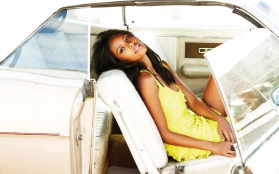девушка, платье, желтом, паула, эмануэла, devushki, модель, brazilian, авто, seat,
