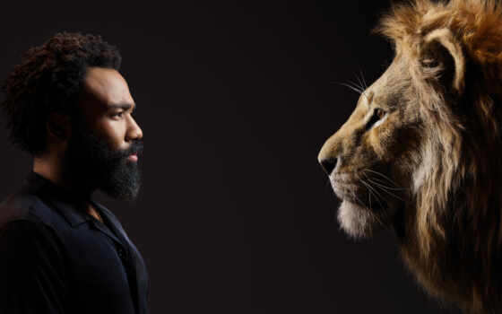 donald, lion, glover, king, disney, актер