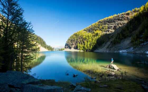 озеро, banff, park, national, louise, канада, moraine, альберта, природа, favorite, twitter