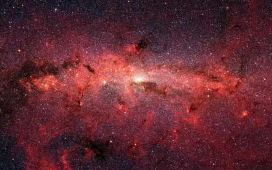звезды, красное, скопление, много, картинка, stars, картинку, thousands, milky, galaxy,